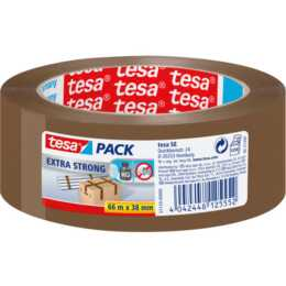 TESA Pack Extra Strong Verpackungsband, 38 mm x 66 m