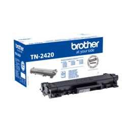 BROTHER TN-2420 (Einzeltoner, Schwarz)