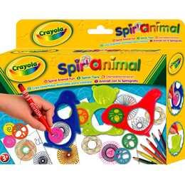 CRAYOLA Pochoir Spiral Animals