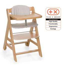 HAUCK Chaise haute Beta + Nature