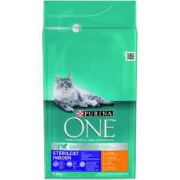 PURINA ONE Sterilcat Indoor, Huhn, 1.5 kg