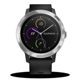 GARMIN Vívoactive 3 (Edelstahl, Silikon, GPS)