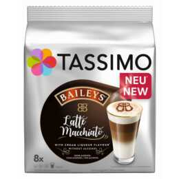 TASSIMO Kaffeekapseln Latte Macchiato Baileys (8 Stück)