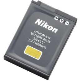 NIKON EN EL12 Kamerabatterie, Li-Ion, 1050 mAh