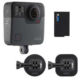 GOPRO Fusion 360° Actionset (18 MP, Noir)