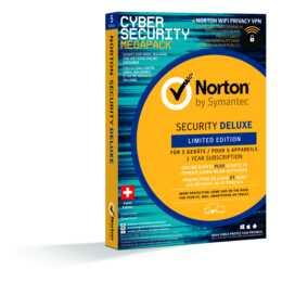 NORTON Security Deluxe 3.0 Edition 5 für 1 (Abbonamento, Tedesco, Francese, Italiano)