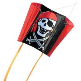 INVENTO-HQ Lenkdrachen Sleddy Jolly Roger