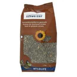 ERIC SCHWEIZER Graines de tournesol Nourriture pour oiseaux d'hiver, 5 kg