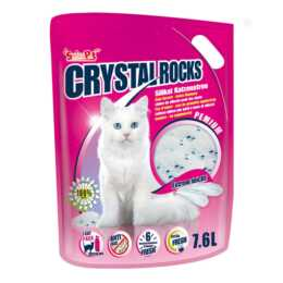CRYSTAL ROCKS Litières pour chat (7.6 l)
