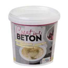 GLOREX Béton créatif, 1,5 kg, gris