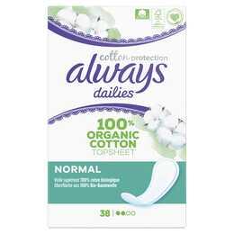 ALWAYS Cotton Protection Serviettes périodique (38 pièce)
