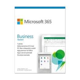 MICROSOFT 365 Business Standard (Licence, 1x, 1 année, Italien)