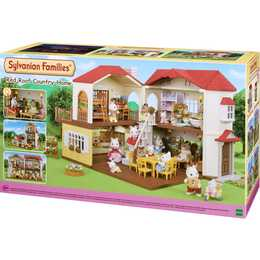 SYLVANIAN FAMILIES Red Roof Country Home Casa delle bambole