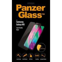PANZERGLASS Verre de protection d'écran Samsung Galaxy A40 (Hautement transparent, Cristallin)