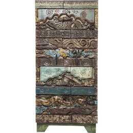 KARE Shanti Surprise Puzzle Schiebetürenschrank (45 cm x 85 cm x 180 cm)