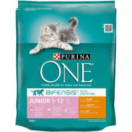 PURINA ONE Junior Huhn & Vollkorn 800g