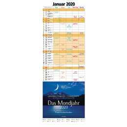 MOSAIK Calendario famiglia e calendario di compleanni 2020