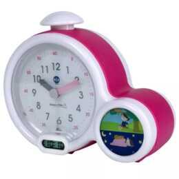 "PABOBO Kid'Sleep ""Clock"" (Rosa, Bianco, Sveglia per bambini)"