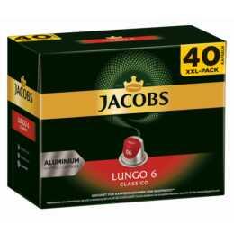 JACOBS Capsules de Café Espresso lungo Classico (40 Pièce)