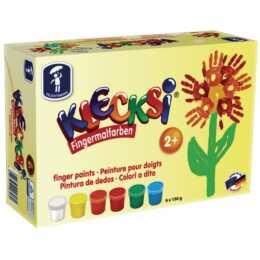 FEUCHTMANN Klecksi Basic Maxi Finger Paints de FEUCHTMANN