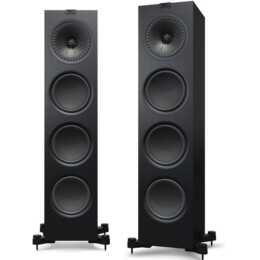 KEF AUDIO Q950 (80 W, Standlautsprecher, Schwarz)