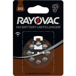 RAYOVAC PR41 Batterie (Hörgeräte, HA312, 8 Stück)