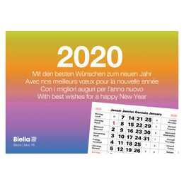 BIELLA Calendario a fogli mobili 2020