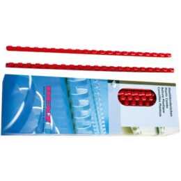 RENZ Plastikbinderücken, 16mm, rot