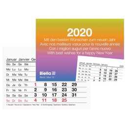 BIELLA Wandkalender 2020