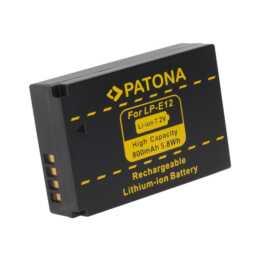 Batteria PATONA per Canon LP-E12