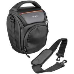 Sacoche pour appareil photo SONY LCS-AMB, noir