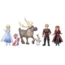 HASBRO Frozen Frozen 2 Abenteuer Freunde-Set