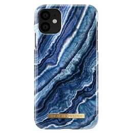 IDEAL OF SWEDEN Backcover Indigo Swirl (iPhone 11, Bleu)