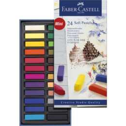 FABER-CASTELL Kreide Softpastell Mini
