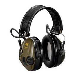 3M Peltor SportTac Coquilles anti-bruit (26 dB, Arancione, Verde oliva)