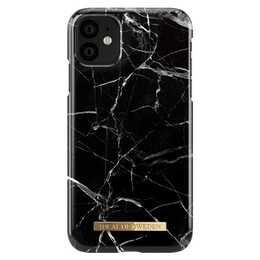 IDEAL OF SWEDEN Backcover Black Marble (iPhone 11, Noir)