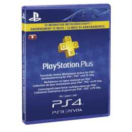 SONY PlayStation Plus Live Card 365 Tage (ESD, IT, DE, FR)