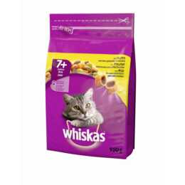 WHISKAS Senior, Huhn, 950 g