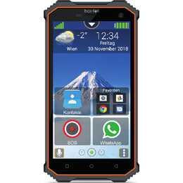 """BEAFON X5 (5"""", 16 GB, 8 MP, Orange, Schwarz)"""