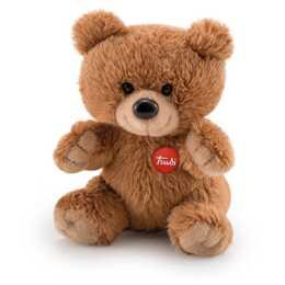 TRUDI Plush Bear (10 cm, Marrone)
