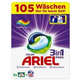 ARIEL Maschinenwaschmittel 3in1 Pods Color (Tabs)