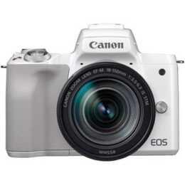 CANON EOS M50 Kit 24.10 MP White + EF-M 18 - 150 mm