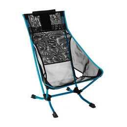 HELINOX Campingstuhl Beach Chair Mesh (Schwarz, Blau)