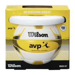 WILSON AVP Beach Set Volleyball & Frisbee