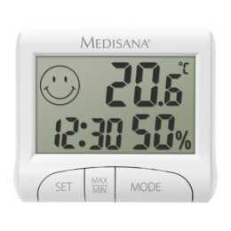 MEDISANA HG100 Thermo-/Hygrometer (Weiss)