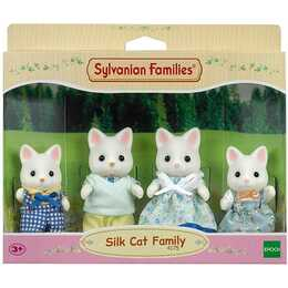 SYLVANIAN FAMILIES Silk Cat Family (4 pezzo)