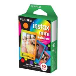 FUJIFILM Rainbow Instax Mini film instantané, 10 feuilles