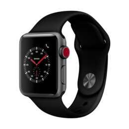 APPLE Watch Series 3 GPS + Cellular (38.0 mm, Aluminium, Silicone)