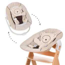 HAUCK Alpha Bouncer 2in1 Coeurs avec fixation pour chaise haute