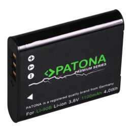 PATONA Batteria Premium per Olympus Li-90B/92